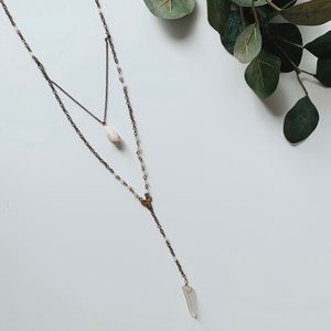 Free People Delicate Layering Long Necklace